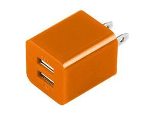New Orange USB Cable Power Adapter  for Apple iPod, iPhone, iPad , Samsung , HTC- Orenge
