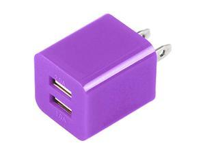 Premium 2A 1A Wall Adapter AC Charger USB Dual Port Compatible With Apple iPhone 4/ 4S/ 5/ 5S/ 5G/ 5C & ALL SMARTPHONES - ...