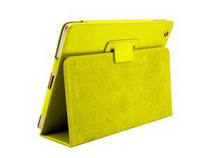 Cover Cases for New Apple iPad Mini - Flip Folio PU Leather Sleep Wake Function Premium Skin Protective Case Cover YELLOW