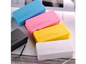 5600mAh USB Portable External Backup Battery Charger Power Bank for Mobile phone Tabs Phablets - Color Available