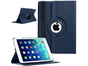 New iPad Air Cases - 360 Rotating Smart Cases / Crocodile(Flip Folio) Pattern Leather Cases / Screen Protector, Color & Pattern ...
