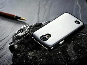 SmackTom High Quality Polished Aluminium Steel Case Cover for Samsung i9500 Galaxy S4 - Generic