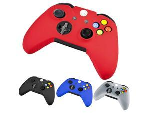 Brand New Silicone Skin Cap Protector Rubber Grip Case Cover for Microsoft Xbox One Gaming Game Controller - Red Color