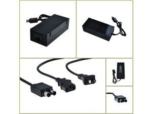 100~240V 2A 135W 12V Brick AC Adapter Power Supply for Xbox One, US Plug - Black