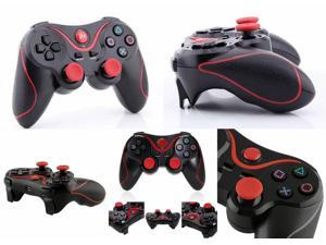 Replacement Doubleshock 3 Black w/ Red Strips Wireless Bluetooth Game Pad Controller For Sony Playstation 3 PS3