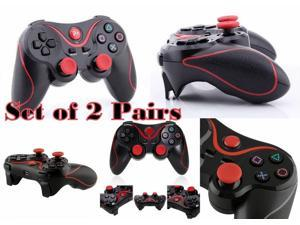 2 Pairs Set For PS3 DoubleShock 3 Wireless Bluetooth USB Game Controller Pad for Sony Playstation 3