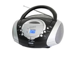 Portable MP3 CD Player Silver