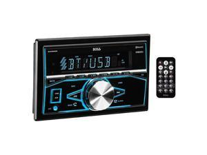 BOSS AUDIO 820BRGB Double-DIN In-Dash Mechless AM/FM Receiver with Bluetooth(R)