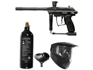 2009 Black Spyder XTRA Paintball Marker Gun Package