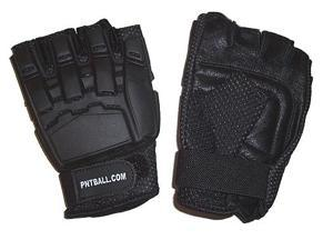 3Skull Half Finger Paintball Gloves - Large