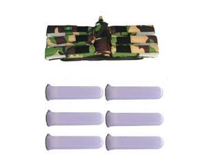 3Skull Paintball 6+1 Harness Ammo Pack - Woodland Camo with Tubes