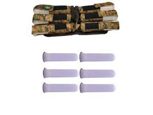 3Skull Paintball 6+1 Harness Ammo Pack Digi Camo with Tubes