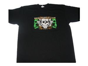 Ultimate Paintball 3Skull T-Shirt Black - Large