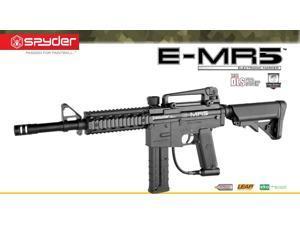 Spyder E-MR5 Electronic Paintball Marker Gun Magazine Fed - Black