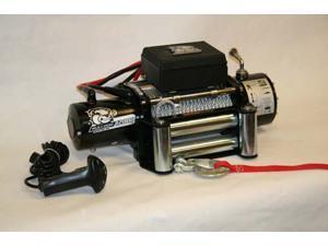 Bulldog Winch 10003 12000lb Winch with 6.0hp Series Wound Motor, Roller Fairlead
