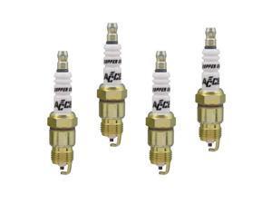 Accel 0586-4 High Performance Copper Core Spark Plug, 4pk