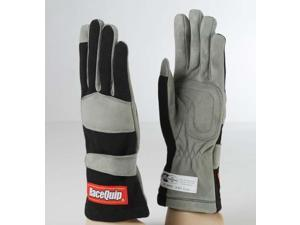 Racequip 351003 Racing Gloves-Black