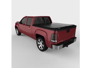 Undercover UC1086 SE Hinged ABS Tonneau Cover, GMC Sierra 5.7'&#59; Black