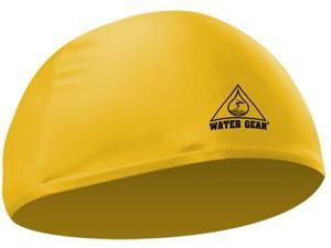 Water Gear Lycra Swim Cap Yellow