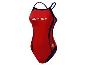 Tyr Guard Durafast Splice Diamondfit Female Red/Navy 36