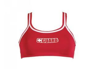 Dolfin 2-Piece Guard Top Female Guard Red Large