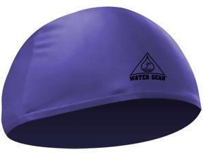 Water Gear Lycra Swim Cap Blue
