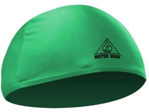 Water Gear Lycra Swim Cap Green