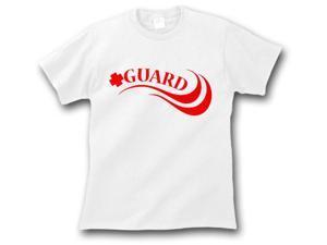 Lifeguard T-Shirt White Medium