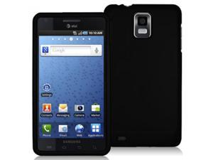 Samsung Infuse 4G i997 Black Rubberized Snap-On Hard Case
