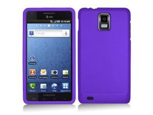 Samsung Infuse 4G i997 Purple Rubberized Snap-On Hard Case