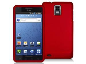 Samsung Infuse 4G i997 Red Rubberized Snap-On Hard Case