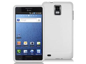 Samsung Infuse 4G i997 White Rubberized Snap-On Hard Case