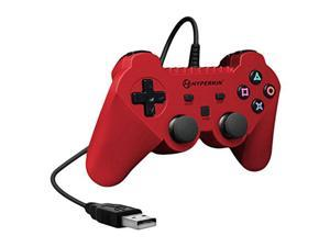"Red ""Knight"" Premium Wired PS3 Controller [Hyperkin]"