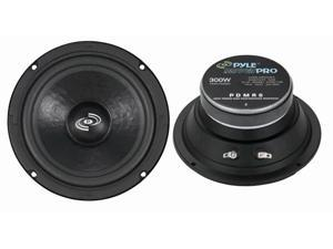 "New Pyle Pdmr6 6.5"" 300W Car Audio Midwoofer With Sealed Back 300 Watt"