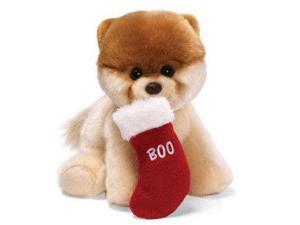 "Boo with Christmas Stocking 9"" by Gund"
