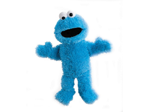 "Sesame Street Cookie Monster Body Puppet 15"" by Gund"