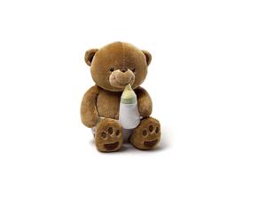 """Cuddly Cubs Corey Brown Bear 12"""" by Gund"""