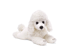 "Poodle Medium Plush Dog 13"" by Gund"