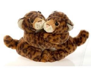 "Best Friends Fur-Ever Leopards 8"" by Fiesta"