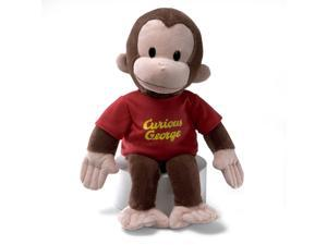 "Classic Curious George in Red Shirt 16"" by Gund"