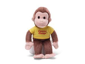 """Classic Curious George in Yellow Shirt 8"""" by Gund"""