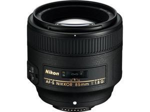 Nikon 2201 SLR Lenses AF-S NIKKOR 85mm f/1.8G Lens Black