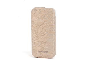 Kensington Portafolio Coffee Snake Solid Flip Wallet for iPhone 5 K39611WW