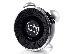 Edifier Tick Tock Bluetooth Clock - Black MF240BT-Black