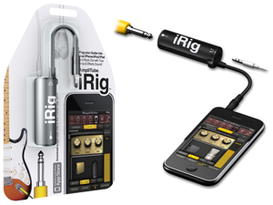 IK Multimedia Apple® iPhone® / iPad® / iPod touch® 4G / 3G / 2G AmpliTube iRig, Black