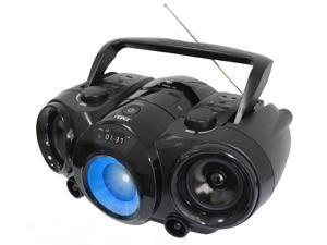 Naxa NPB-261 Portable Boombox MP3/CD AM/FM Radio with Bluetooth