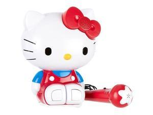 HELLO KITTY 21009 SINGALONG KARAOKE MOLDED BUILTIN RADIO AND