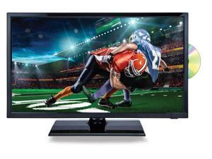 "Naxa NTD-2256 22"" Class 1080p Full HD LED TV with DVD/Media Player and Car Package, Shiny Black"