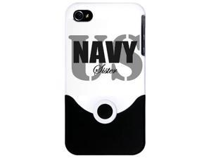 us navy sister bold i phone 4 slider case by CafePress