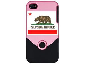 california republic i phone 4 slider case by CafePress
